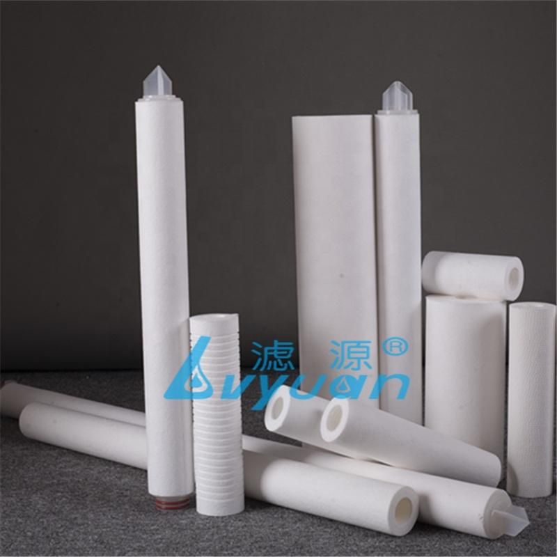 PP-F Sediment removal 1 5 10 25 microns water filters Melt blown PP cartridge polypropylene filter sponge for RO parts