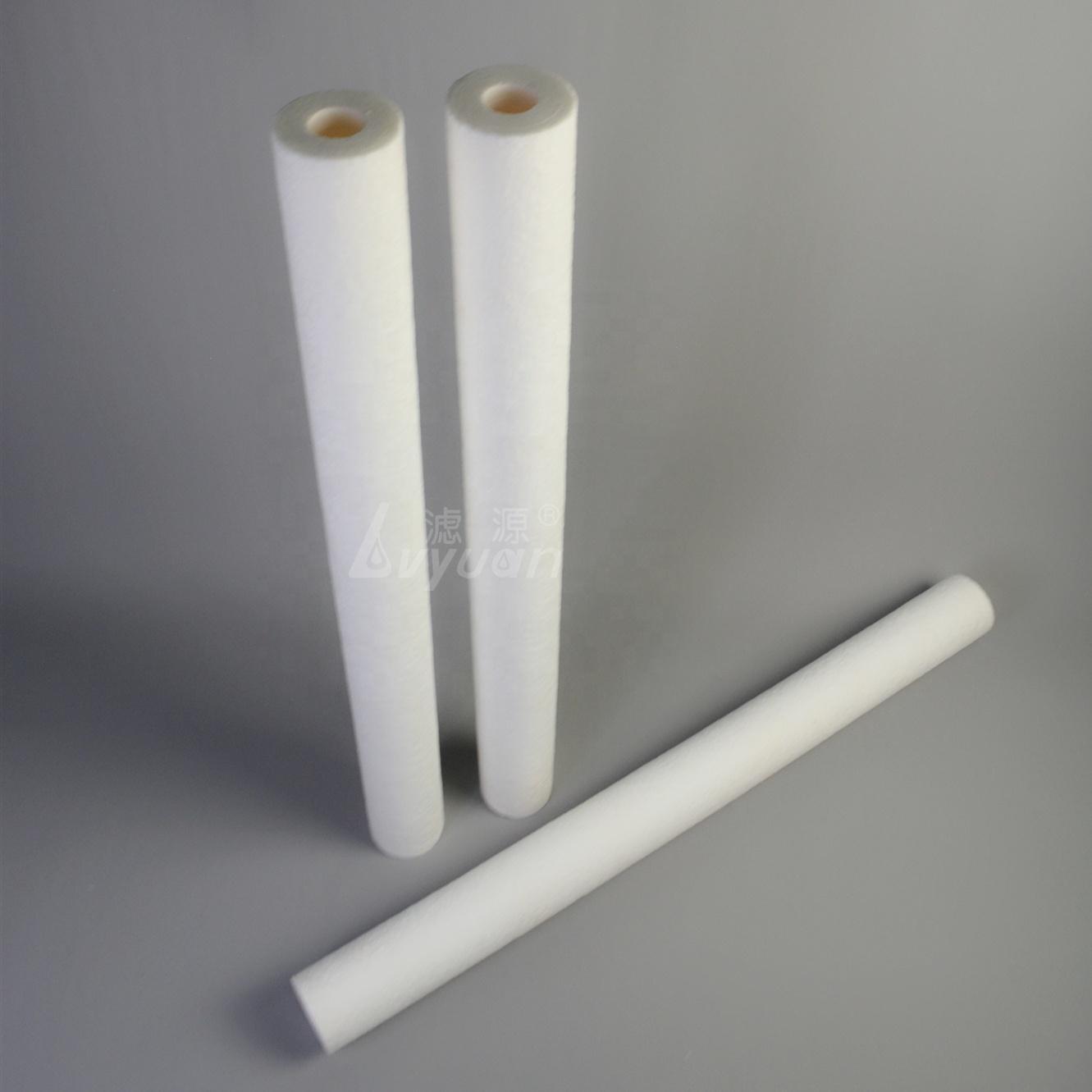 1 box/25pcs High Flow 40 inch 5 micron pp sediment filter cartridge /melt blown cartridge filter water