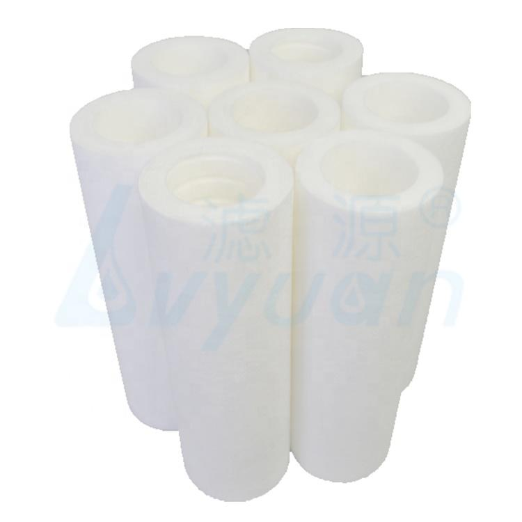 melt blown pp filter cartridge with pp filter core for water filtration