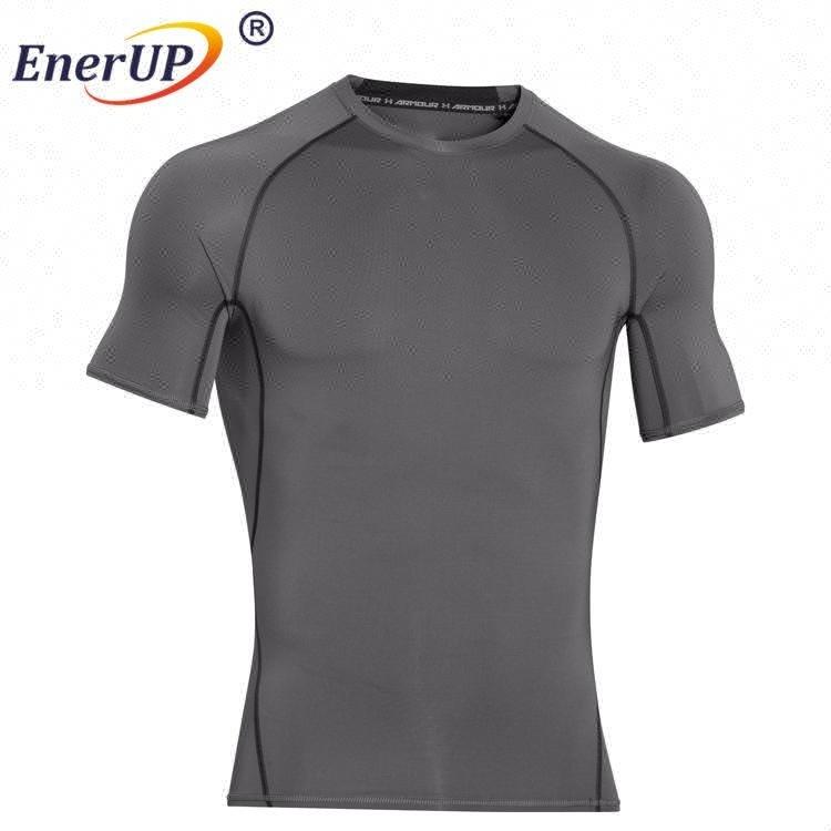 copper compression running wear shirts Long Sleeve top underwear