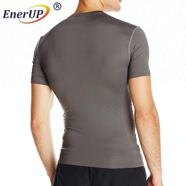 Mens Copper Wear Stretch Compression Top Shirt Wholesale