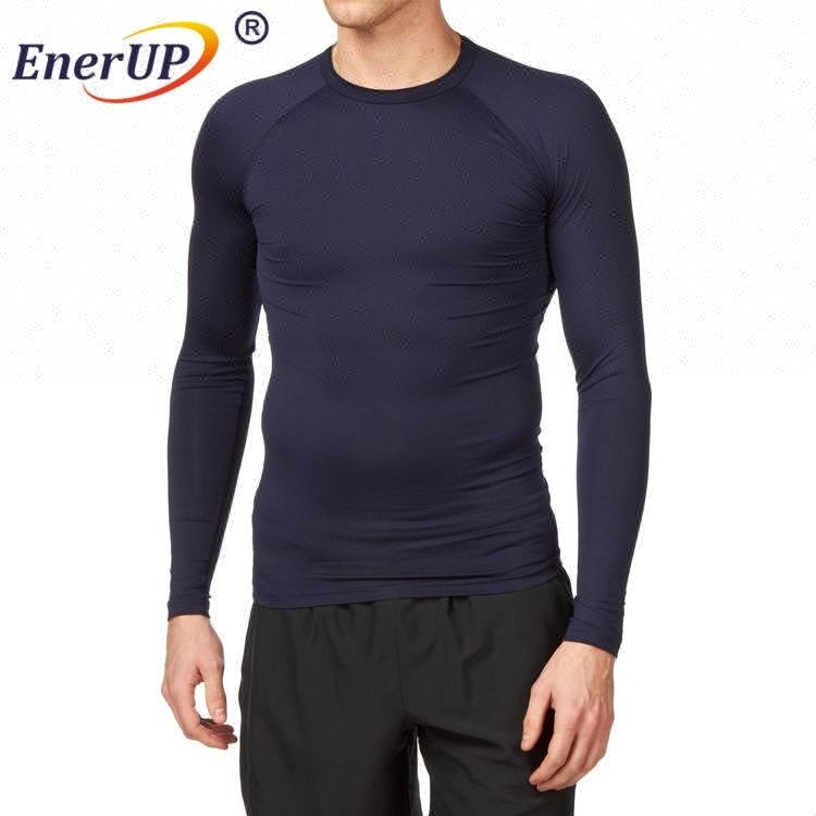 China Hot selling Copper and Zinc Infused Short Sleeve shirt women Compression Running sports wear clothes
