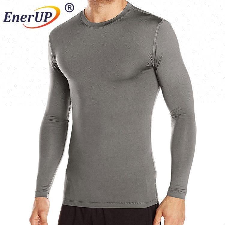 skin tight mens long sleeve microfiber underwear 95 cotton 5 spandex t shirts