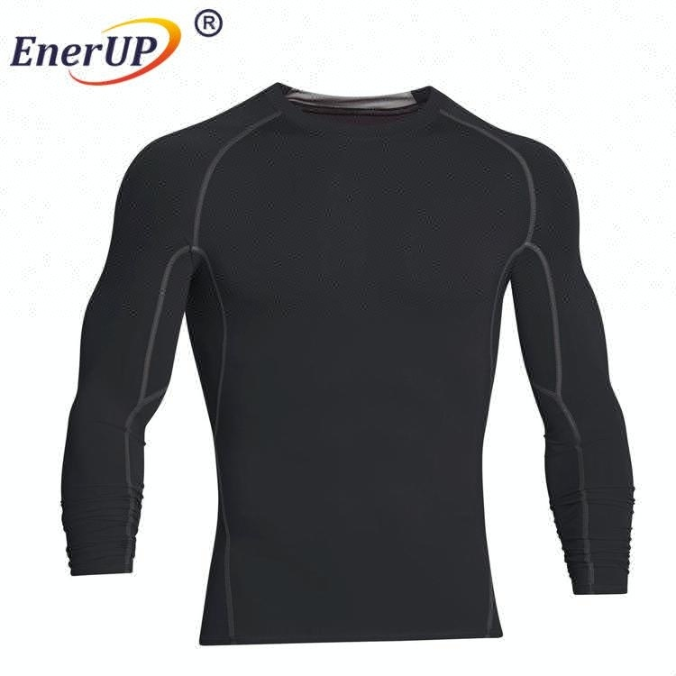 2017 man underwear long sleeve blank t-shirt wholesale plain fitted t shirts