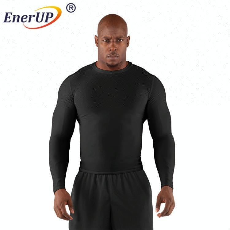 Free Sample China wholesale Copper Men Recovery Compression Long Sleeve Gym Shirt
