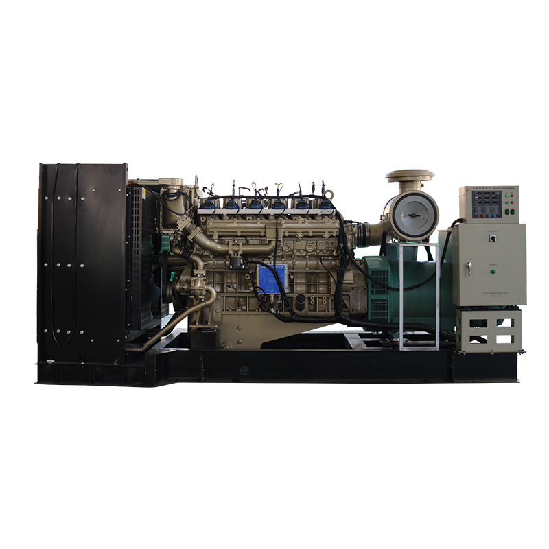 Open Frame Customizable Water Cooling 24v Electric Start Biogas Generator Set