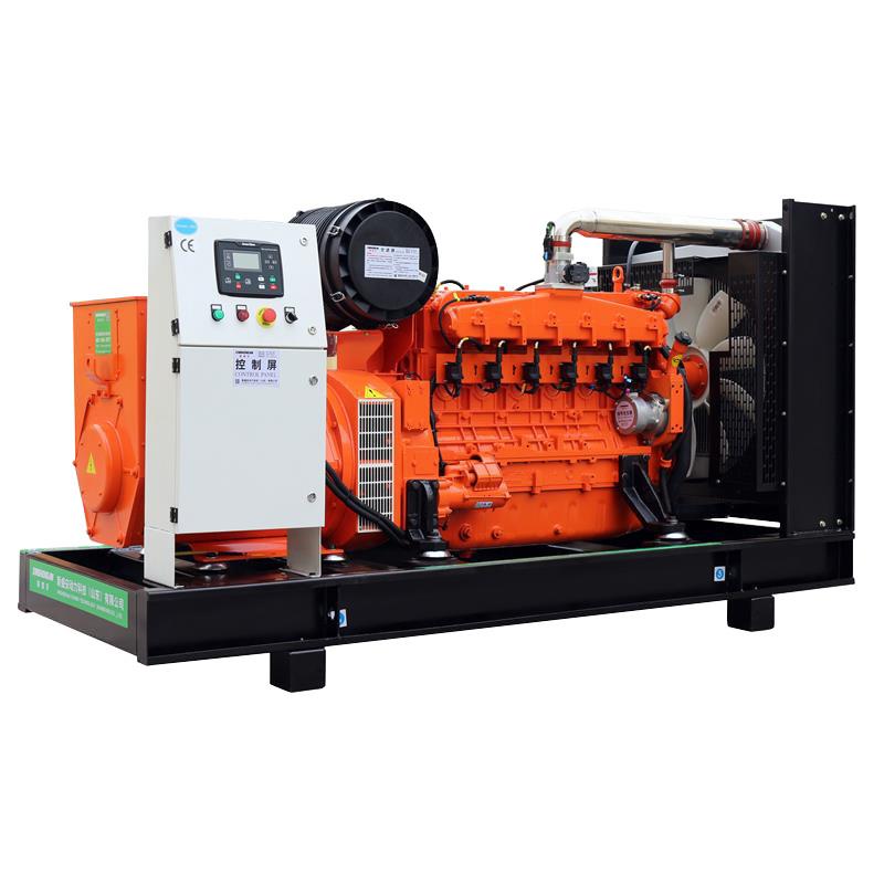 400v/230v Open Frame 3-phase Brushless Biogas Electricity Generator