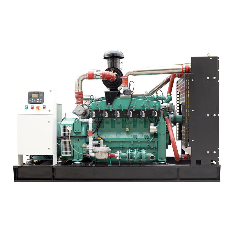 High Power 3-Phase Water Cooling 24V Electric Start CE ISO Biogas Generator Set