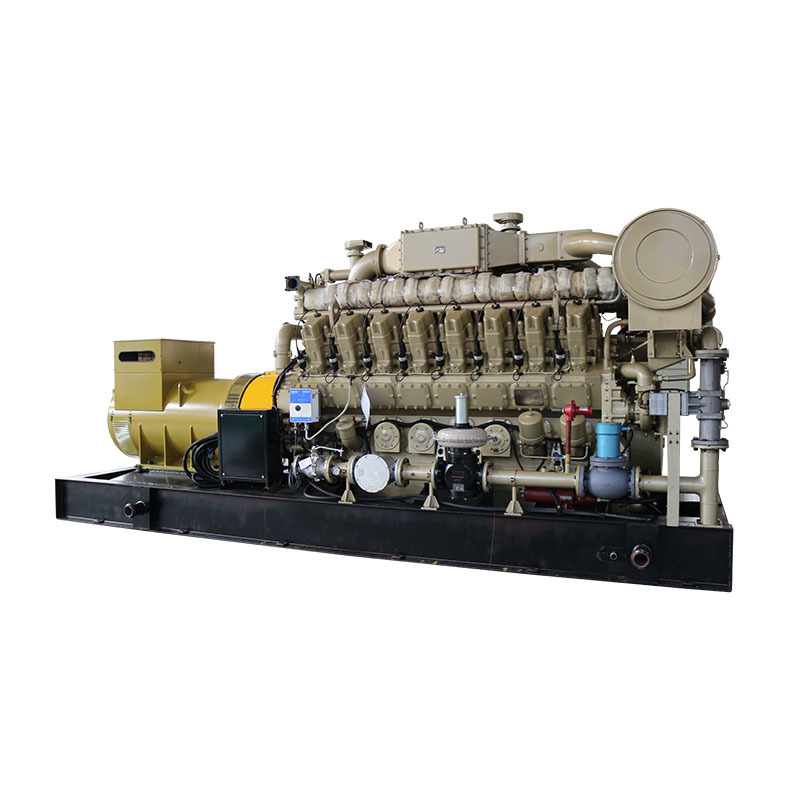 Energy Saving High Efficiency 1000kw Water Cooling Electric Generator Biogas For Industrial Plant