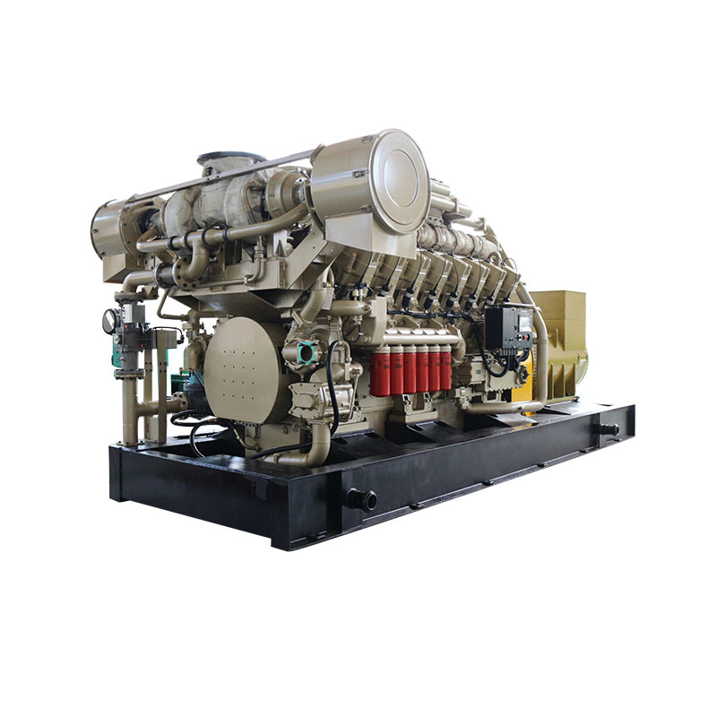 CE Approved High Efficiency 3-phase Open Frame Biogas Engine Generator With Chp System