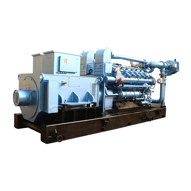 Cheap High Power 12 Cylinders Water Cooling Biogas Generator With Chp