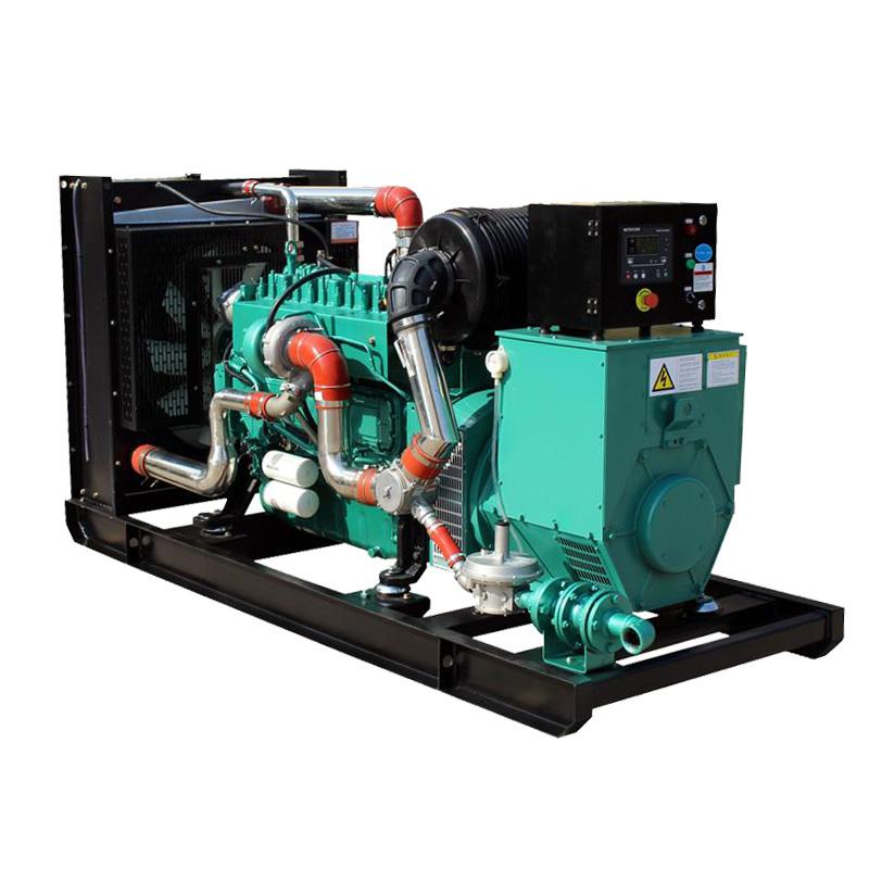 Electric StartBrushless 100kw 180aPortable Biogas Generator Price List