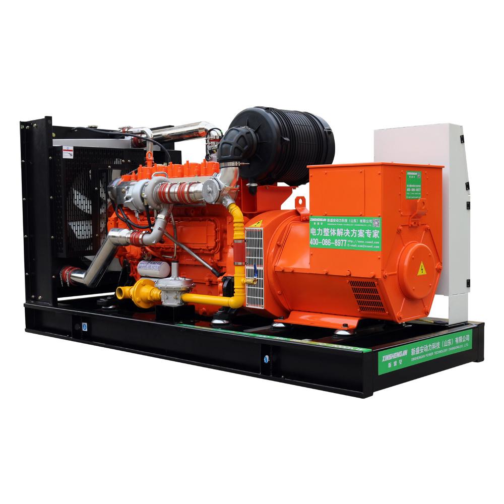 CE ISO XSA-150GFQ Clean Energy Water Cooling Electric Bio Gas Generator