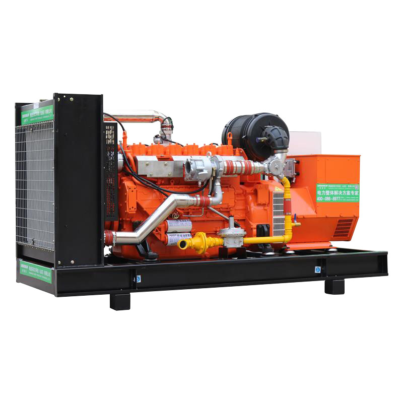 150kw High Power Clean Energy Water Cooling Cogeneration Natural AVR Bio Gas Generator