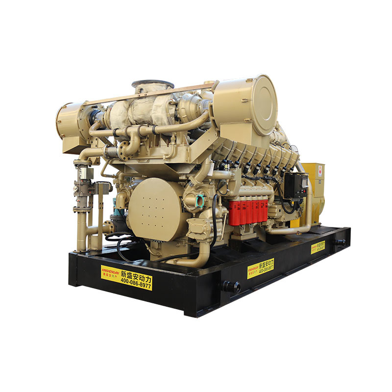 XSA 1000kw3-phase 16 Cylinders High Power Biogas Generator Price