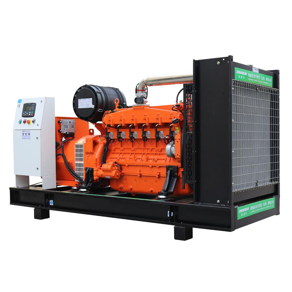 Cogeneration Natural AVR High Power Brushless 150kw Generator Biogas