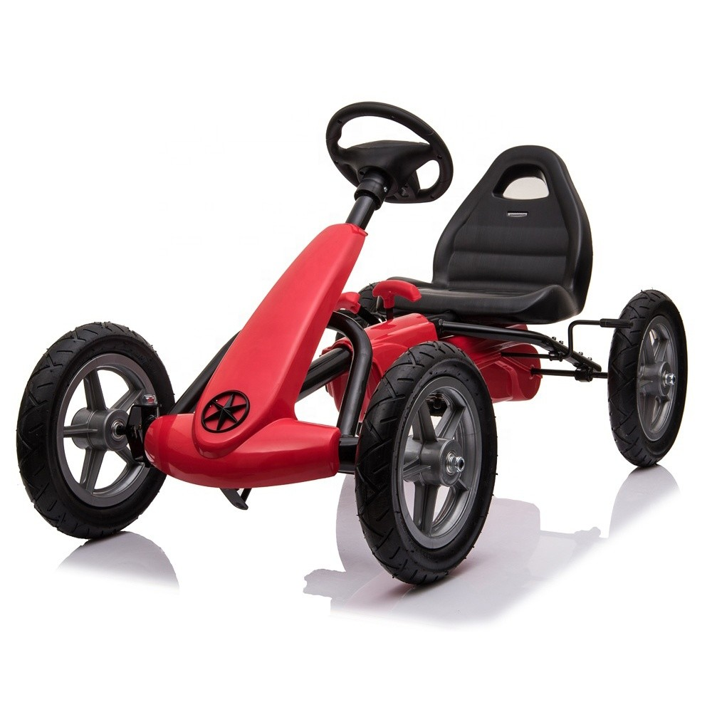 New big kids ride on toys car pedal powered go-kart
