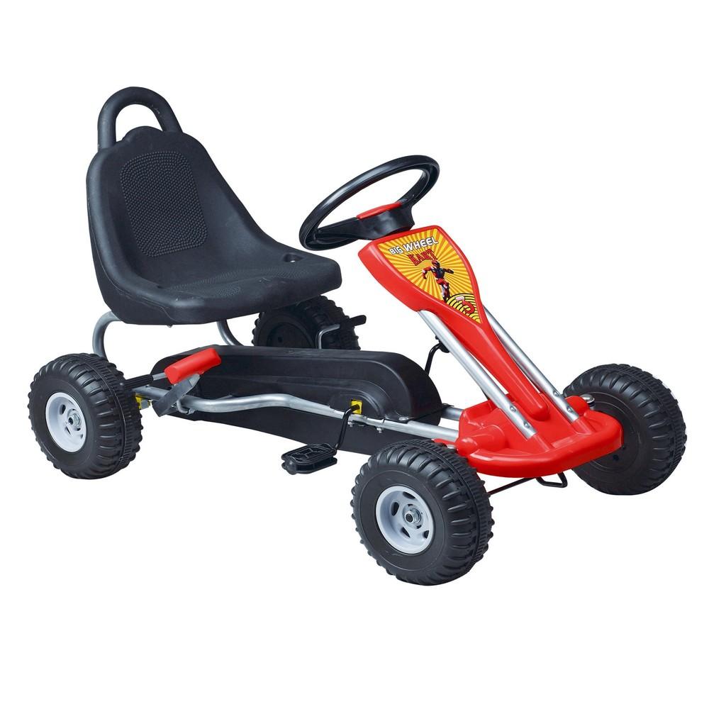 Wholesale child drivable toy car kids pedal go kart