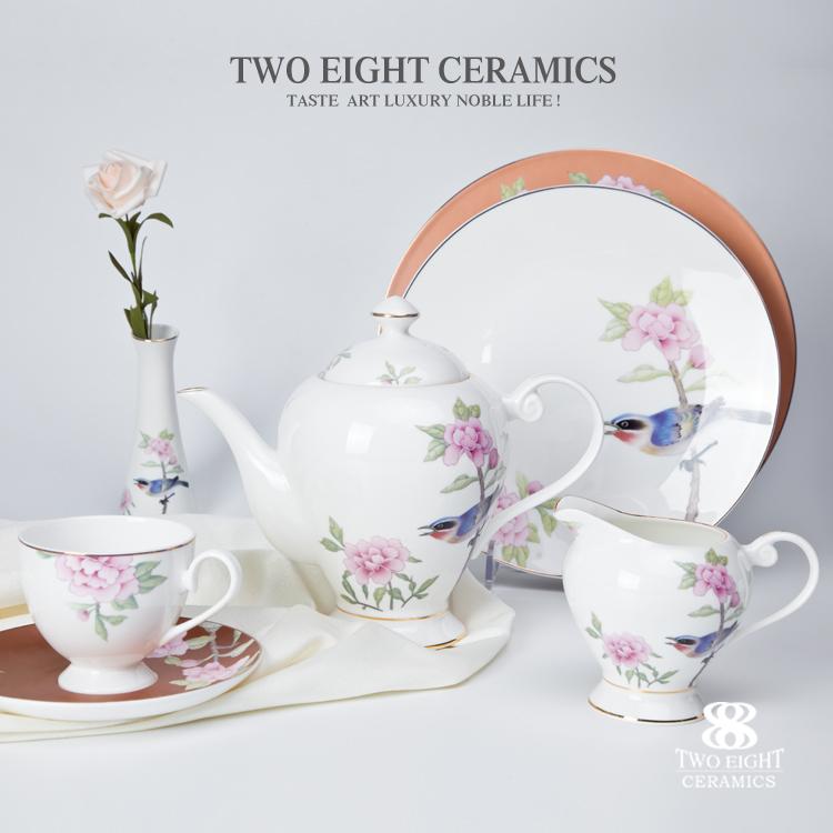 modern porcelain restaurant table flower vase luxury ceramic