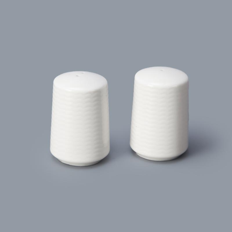 hotel ware porcelain salt pepper shaker