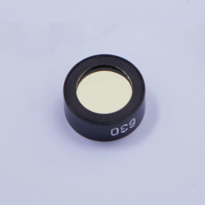low cost visible Round Optical Glass Color ir cut off filter