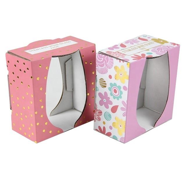 Eyelash Macaron Food Package Paper Box