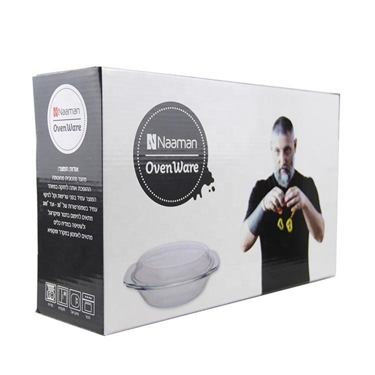 customized cardboardpackaging gift paper box food marmite bowl packaging box