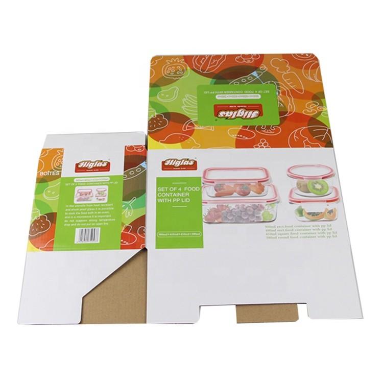 custom packaging carton paper cake box food grade paper box cosmetic packaging