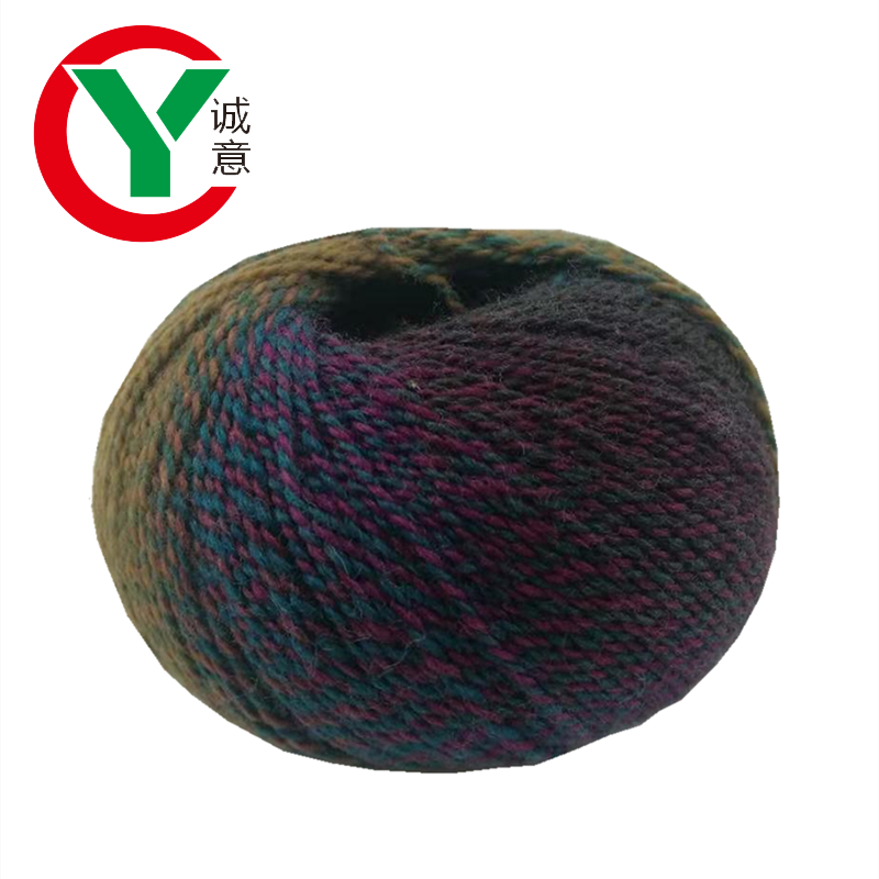 Factory hand knitting wool yarn factory popular wholesale hot selling 100% wool roving yarn