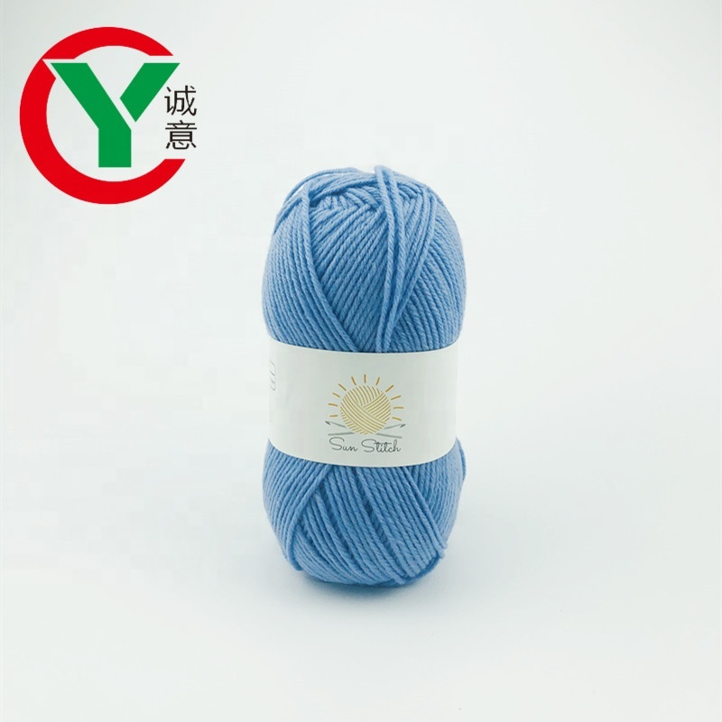 100%cotton hand knitting yarn wholesale with low price
