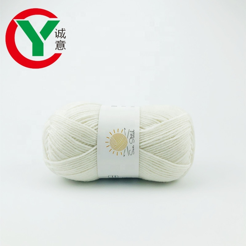 Factory free sample 9s/4 polyester hand knitting yarn crochet yarn for knitting