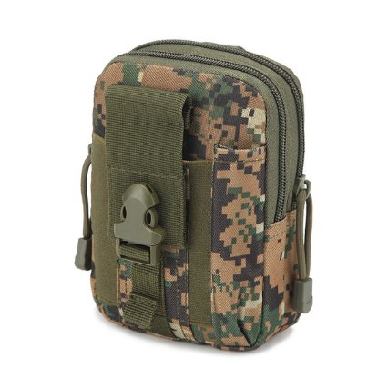 Outdoor Camouflage Waist Bag WaterproofHunting Bags Military Pouches Phone Case Camouflage Pocket