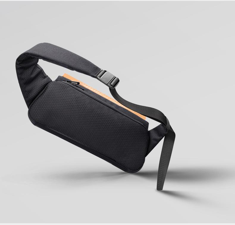 NEW Fashion Cross body Men Shoulder Bag Male Sling Chest Cross Body Messenger Handbag For Waist Belt Matching Waterproof