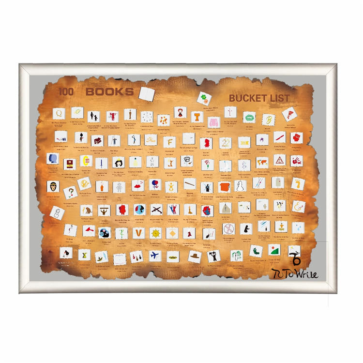 100 Scratch Off Book Bucket list Scratch Off World Map Poster for Amazon