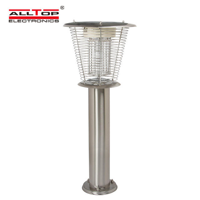 High quality fancy outdoor mosquito killing lamp 3w led solar gate light