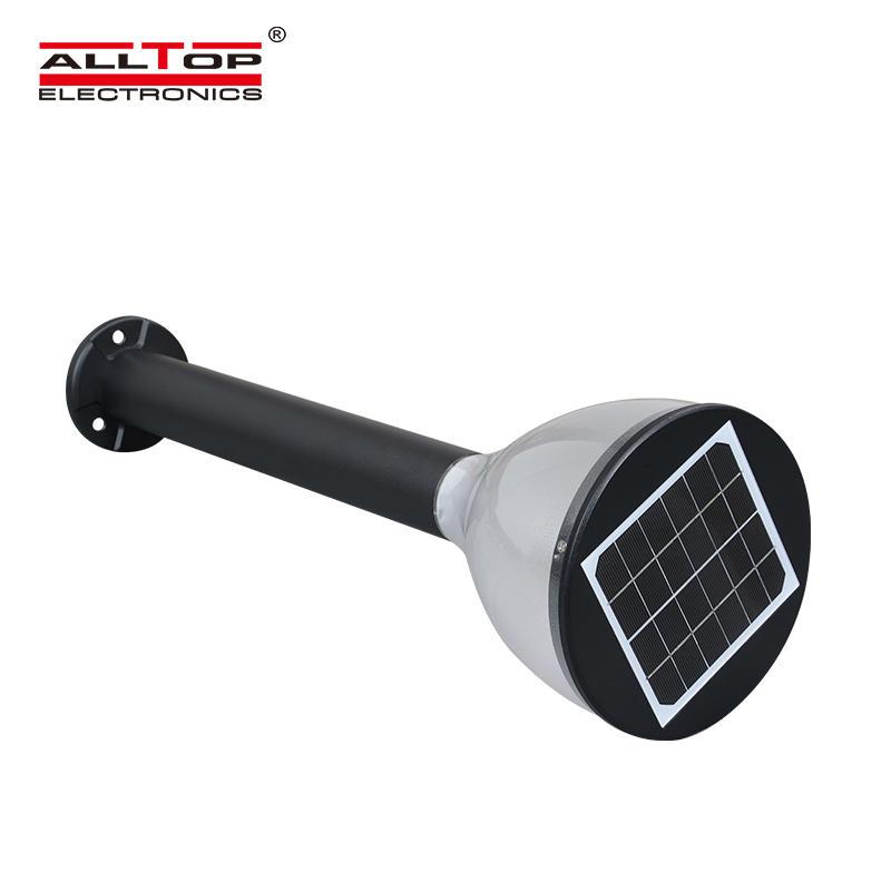 ALLTOP Super bright 5 watt outdoor IP67 waterproof led solar garden light price