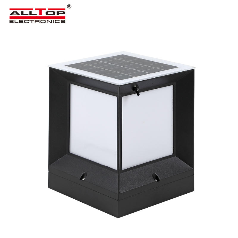ALLTOP Modern design minimalistic garden light 5w IP65 waterproof LED solar garden light