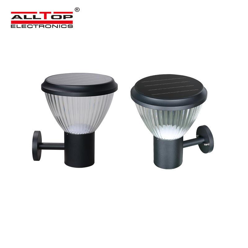 ALLTOP High brightness ip65 waterproof outdoor road lighting solar led light garden