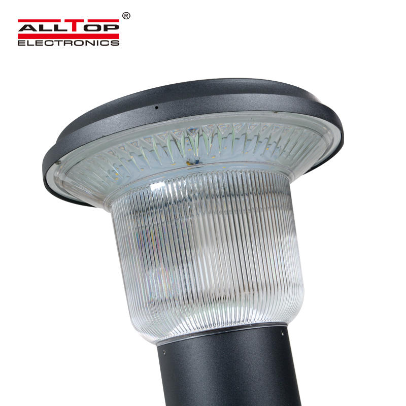 ALLTOP High quality outdoor IP65 waterproof photocell sensor 5w solar led garden lamp
