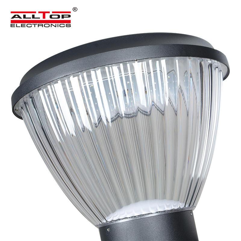 ALLTOP 5watt outdoor waterproof ip65 integrated battery power solar led garden light