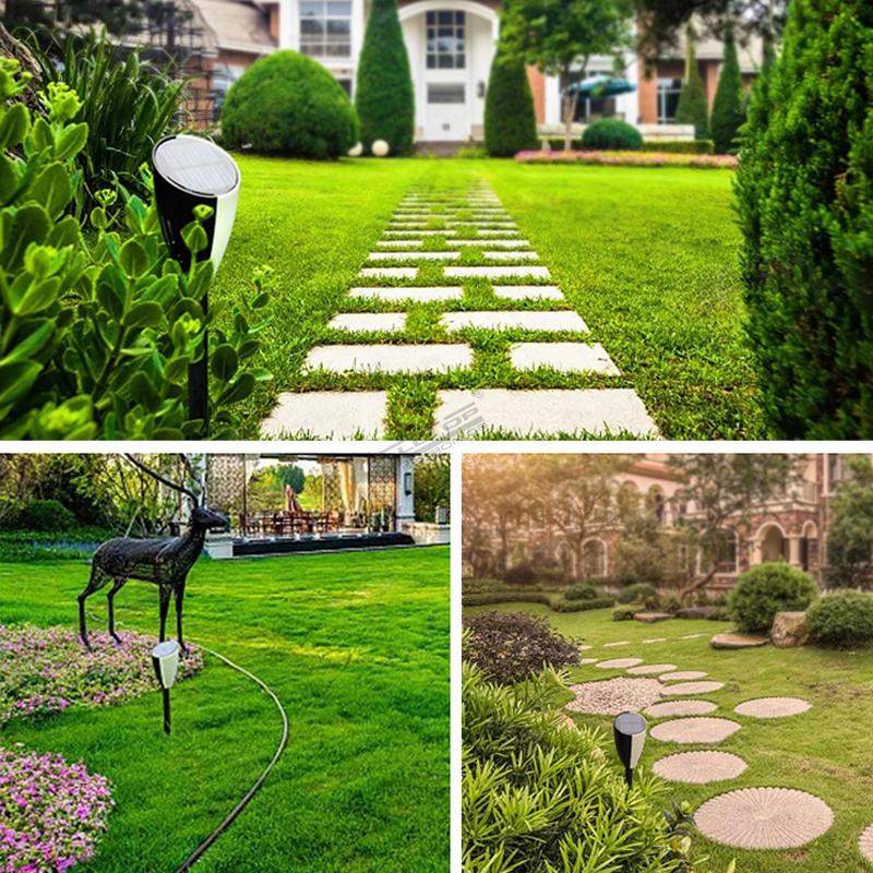 ALLTOP Waterproof Outdoor Pathway Garden Solar LED Music Lawn Lamp