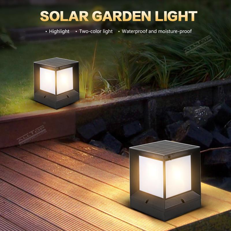 ALLTOP Hot selling waterproof IP65 garden light outdoor integrated solar garden light LED