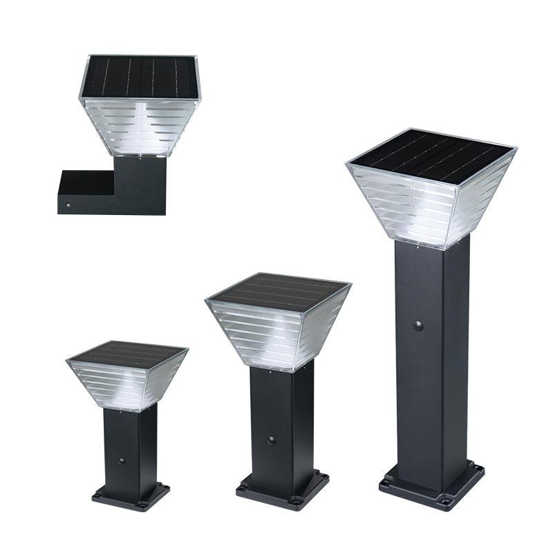 ALLTOP Outdoor Smart LED Solar Landscape road Light courtyard Lamp integrated 5w Solar Garden Light