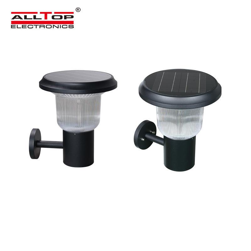 ALLTOP High lumen 5w IP65 outdoor lighting integrated solar led garden light price