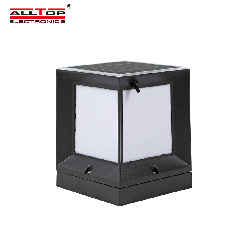 ALLTOP Integrated outdoor double light source garden light 3w waterproof solar led garden light
