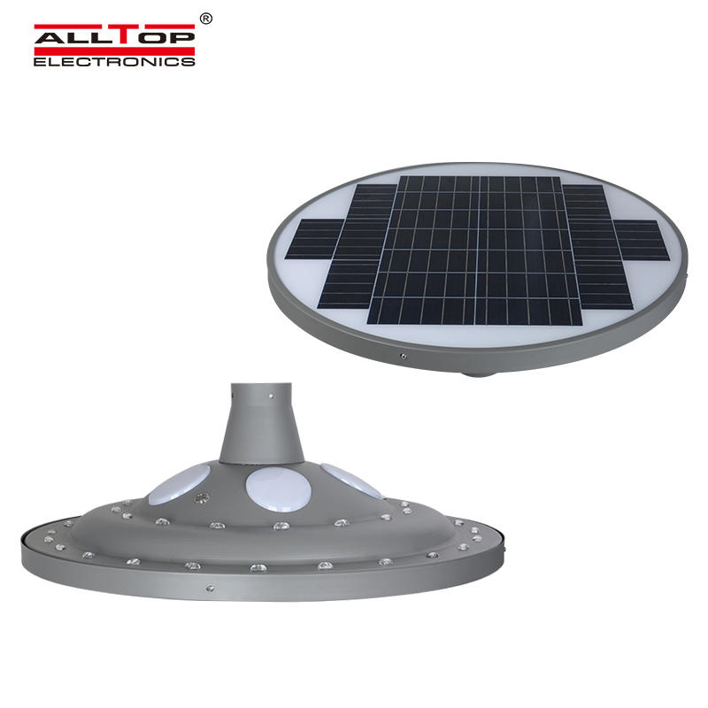 ALLTOP Hot selling aluminum park road lighting smd ip65 30w 60w led solar garden lamp