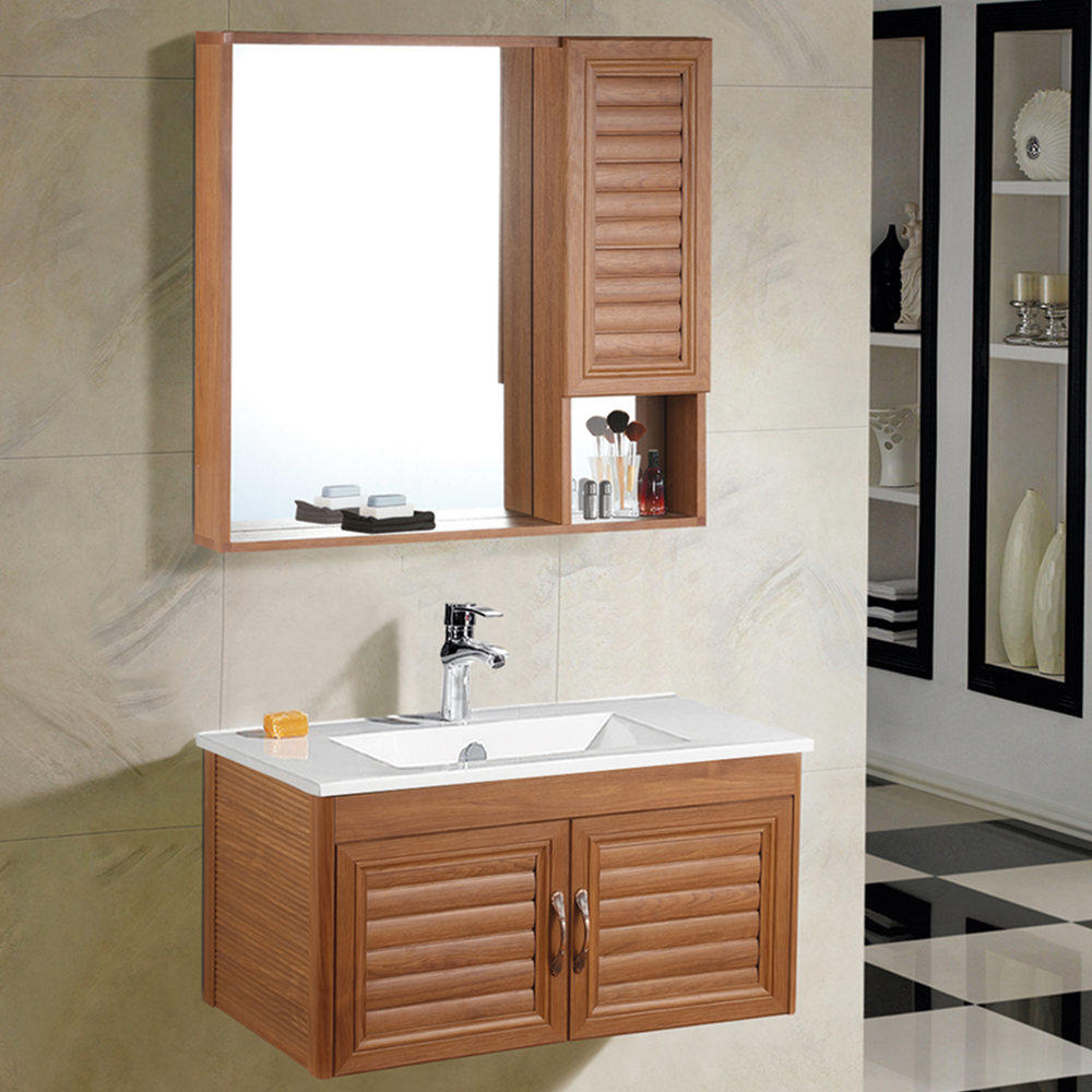Hotel bathroom supplies new model space saving bathroom furniture poland