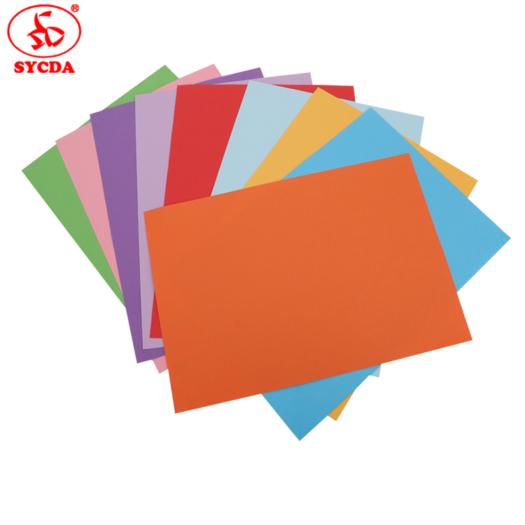 Factory Supplier coloful offset printing master paper for custom