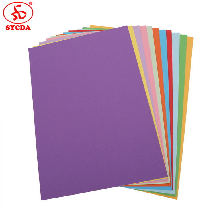 700*1000mm Colorful Offset Paper 70g coated woodfree coloful offset paper In Hot Sale