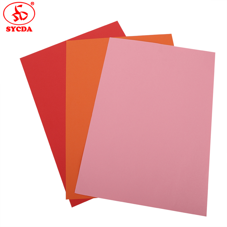 factory hot sales electrostatic coloful offset master paper plate for custom